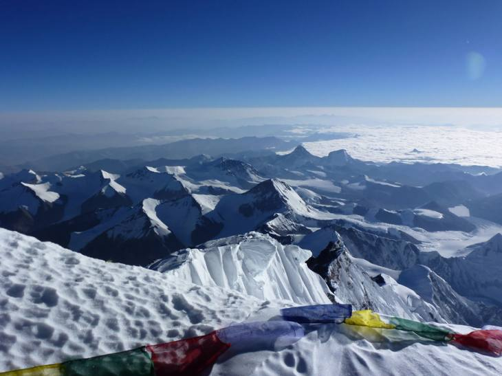 Top of Mt Everest