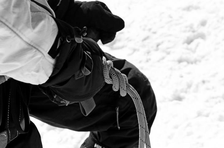 Preparing to climb Mont Blanc