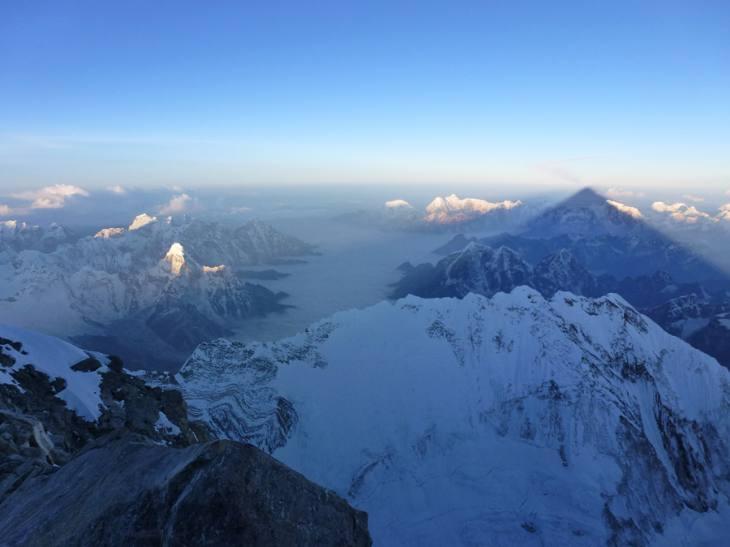 Sunrise on Mt Everest, Nepal